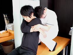 膝痛治療の施術その2