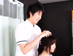頭痛治療の施術